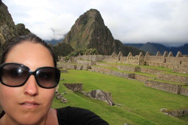 Machu PIcchu all to myself!