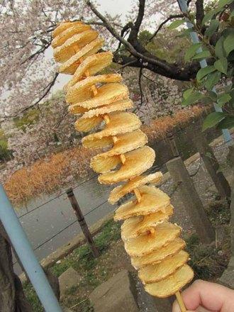 spiral potato